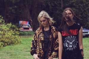 The Boneyard Misfits Editorial Features Eclectic Wardrobe Selects