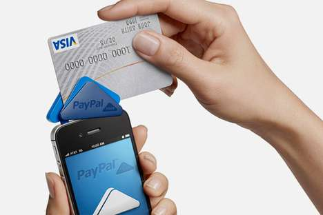 Mini Mobile Payment Devices - 'PayPal Here' Allows Easy Transactions for Small Businesses