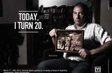 Celebratory Survivor Ads - The Embassy of Israel in Argentina Campaign is Against Terrorism