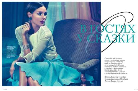 Blue-Tinged Ladylike Editorials