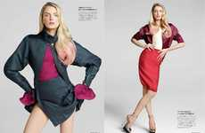 Pink-Accented Editorials - The Lily Donaldson Numero Tokyo Shoot is Youthfully Sophisticated