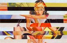 Retro Vixen Collages