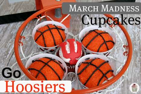 Sensational Sporty Sweets - These Basketball Cupcakes Are the Tastiest Way to Enjoy March Madness