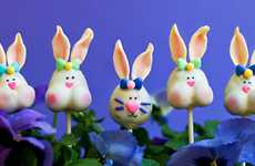Lovable Long-Eared Confections - These Easter Bunny Cake Pops Are the Perfect Spring Treat