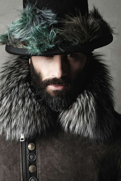 Modern Gypsy-Inspired Menswear - The Tom Rebl Fall/Winter/2013 Collection is Eccentric