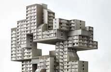 Digitally Distorted Architecture - A Wayward World of Surreal Structures by Philip Dujardin