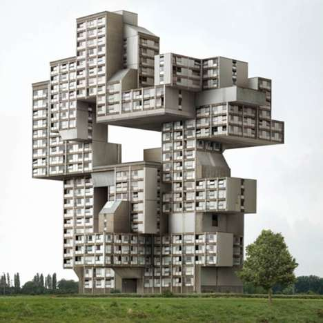 Digitally Distorted Architecture