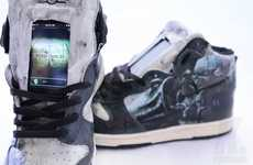 Gadget-Adorned Gamer Shoes
