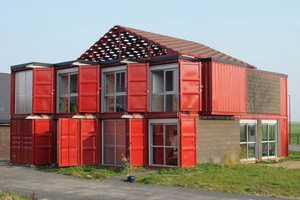 The Patrick Partouche 'Container House' is Modernly Made of Eight Pieces