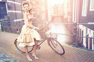 The Vogue Netherlands April 2012 Shoot is a Visual Tour