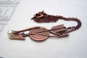 The Hunger Games Necklace Pays Tribute to District 12