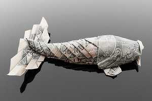 Artist Craig Folds Five Uses Cash to Make Paper Animals