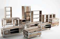 Recycled Robust Storage - The Roadie Collection by Karpenter is Durable and Sustainable