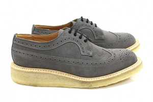 Tricker's Grey Golosh Brogues are Perfect for the Fashion Savvy