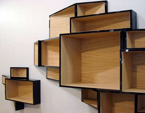 Elegantly Urban Shelves