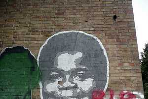 Italy-Based Zibe Tso Paints Graffiti Images of Gary Coleman