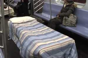 'The Sleeper Car' by Improv Everywhere Let People Rest Their Eyes