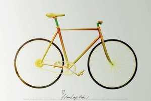 Fabian Orhn & Joakim Hedblad Create a Bike out of Fruit and Vegetables