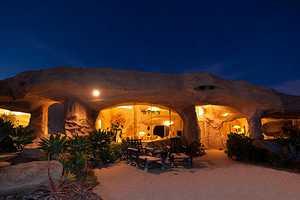 Dick Clark's Flintstones-Inspired House in Malibu is ip for Sale