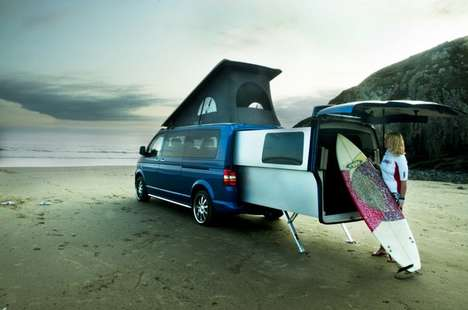 All-In-One Camping Vans