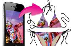 DIY Two-Piece Swimsuits - The 'Kinimatic Custom Printed Bikini' Makes Waves at the Beach
