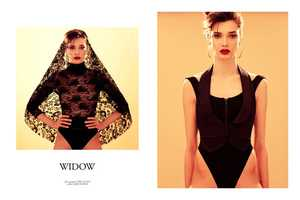The Fashion Gone Rogue 'Widow' Shoot Stars a Sad Stefania Ivanescu