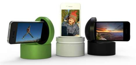 Panoramic Phone Chat Devices
