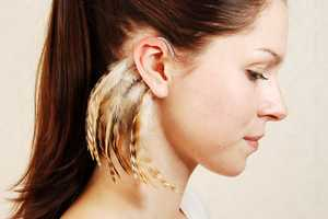 The Njuu Feather Ear Cuffs Will Add a New Allure to Your Look