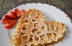 Delicate Doily-Inspired Breakfasts