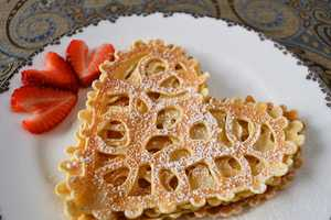 These Darling Lace Crepes are a Morning Meal Fit for a Queen