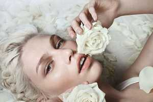 The Aline Weber for Numero #132 April 2012 Editorial is Ethereal