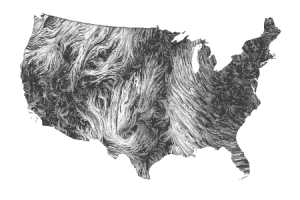 The Google Wind Map Shows Gusts in Real Time