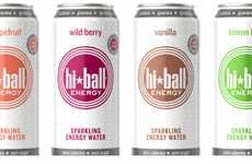 Fancy Fitness Beverages - The Hiballer Energy Drink is Made Using Sparkling Water