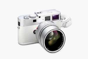 The Leica M9-P White Limited Edition is as Advanced as It is Stylish