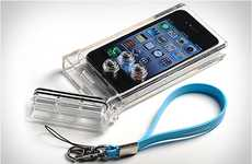 Underwater Smartphone Protectors - The iPhone Scuba Case by TAT7 Shields Your Phone From H2O
