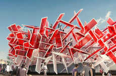 Melody-Induced Pop Pavilions (UPDATE) - 'Coca-Cola Beatbox' Building is Also an Instrument