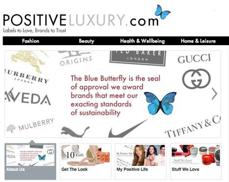 Eco Chic Lifestyle Magazines - 'Positive Luxury' Helps Customers Make Ethical Fashion Choices