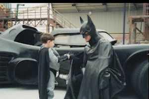 Lenny 'Batman' Robinson Dons Dark Knight Garb to Cheer Up Sick Kids