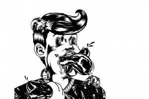 These Lukasz Belcarski Doodles Are Bizarre