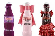 Couture Coke Containers - Coca Cola Tribute to Fashion Raises Money for Earthquake Victims
