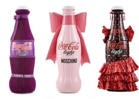 coca cola tribute to fashion
