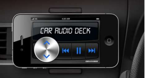 car audio deck