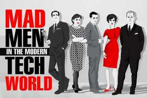 The 'Mad Men in the Modern Tech World' Infographic is Rather Clever