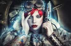 Steampunk Seductress Shoots