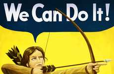 Teen Lit Propaganda Posters - College Humor's Hunger Games PSAs Focus on the Bad Not the Good