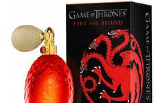 Fantasy Book Fragrances - The Game of Thrones Fire and Blood Perfume is Inspired by Dragons