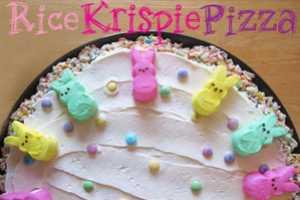 The Rice Krispie Treat Pizza is a Fun Update of the Classic Dessert