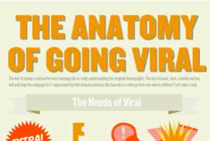 The Anatomy of Going Viral Infographic Lists Ways to Generate Traffic
