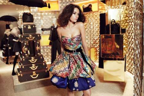 louis vuitton sari dress collection