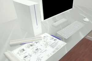 The EDDY: Electronic Drawings Display Saves the Environment